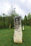 Идолы около крепости Urich стоковое изображение