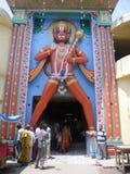 Идол ayodhya Hanuman около Maniram Chhvni Стоковая Фотография RF