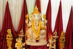 Идол Ganesh Стоковая Фотография