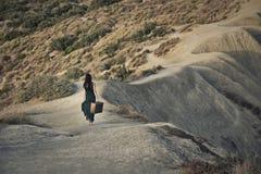 Идти вниз с холма Стоковые Фото