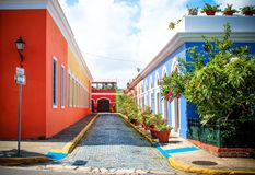 Идти вокруг Portorico Стоковые Фото