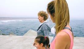 Идти 3 женских поколений Стоковая Фотография