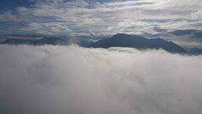 Идти на облака Стоковое Изображение