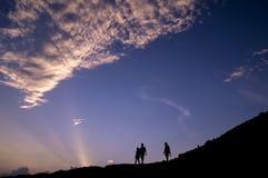 Идти на холм Стоковые Изображения RF