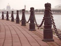 Идти дождь день в Санкт-Петербурге Стоковая Фотография RF