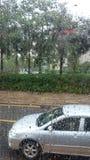 Идти дождь день Стоковая Фотография