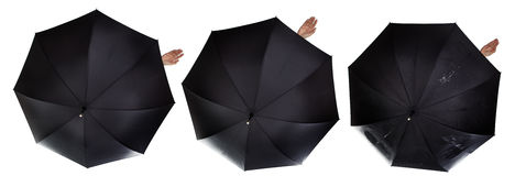 Идти дождь пока Стоковые Фото