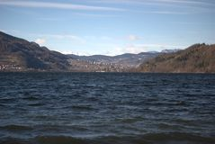 Идти озером Стоковые Фотографии RF