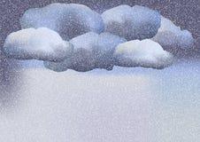 Идти снег бесплатная иллюстрация