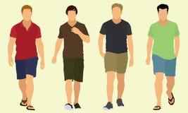 Идти людей Стоковая Фотография RF