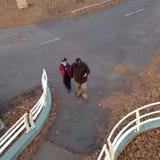 Идти людей Стоковое Изображение RF