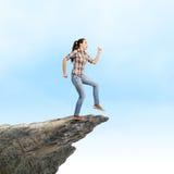 Идущая девушка Стоковое Изображение RF