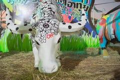Идущий буйвол fatival, гончарня Стоковое Фото