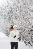 идущий снежок Стоковое Изображение RF