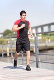 Идущий спортсмен Стоковое фото RF