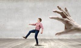 Идущий человек Стоковая Фотография RF