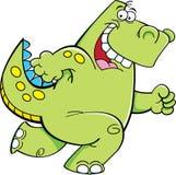 Идущий динозавр Стоковые Фотографии RF