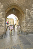 Идущ до en Провансаль AIX, Франция Стоковые Фото