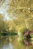 Иль-де-Франс, живописный город Poissy Стоковое Фото