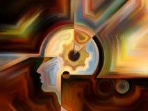 Иллюзии внутренней краски Стоковое Изображение RF