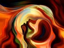 Иллюзии внутренней краски Стоковые Фотографии RF