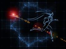 Иллюзии геометрии Стоковое Фото