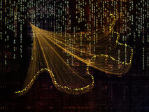 Иллюзии связей технологии Стоковое Изображение RF