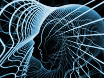 Иллюзии души и разума Стоковые Фотографии RF