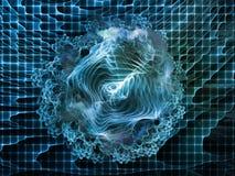 Иллюзия абстрактного визуализирования Стоковое Изображение RF