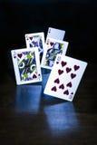 Иллюзия играя карточки Стоковая Фотография RF