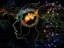 Иллюзия сознавания машины Стоковые Фотографии RF