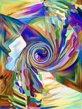 Иллюзия фрагментации Стоковые Фото