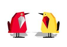 Иллюстратор вектора цвета цыпленка Стоковое Фото