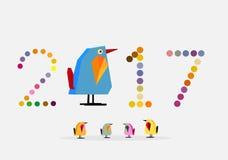 иллюстратор 2017 вектора цыпленка ep2 стоковые изображения rf