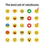 иллюстрации emoticons цветов вектор легкой editable установленный иллюстрация вектора