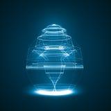 Иллюстрация абстрактной технологии Стоковые Изображения