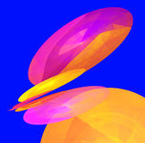 Иллюстрация абстрактных предпосылок multicolor Стоковая Фотография RF