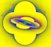 Иллюстрация абстрактных предпосылок multicolor Стоковое Изображение RF
