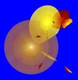 Иллюстрация абстрактных предпосылок multicolor Стоковые Фотографии RF