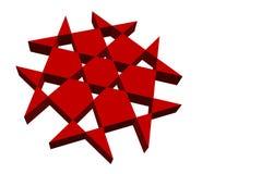 Иллюстрация абстрактных форм… Стоковая Фотография RF