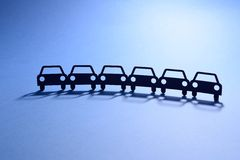 Иллюстрация автомобилей Стоковые Изображения RF