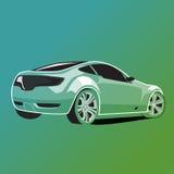 Иллюстрация автомобиля Стоковое фото RF