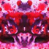 Иллюстрация акварели абстрактная картина безшовная Стоковое Изображение RF