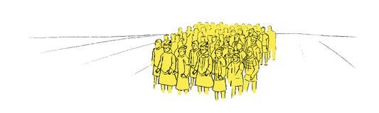 Иллюстрация армии терракоты Стоковое Фото