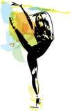 Иллюстрация артиста балета Стоковое Фото