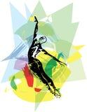 Иллюстрация артиста балета Стоковое фото RF