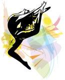 Иллюстрация артиста балета Стоковое Изображение