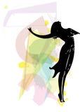 Иллюстрация артиста балета Стоковая Фотография RF