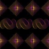 Иллюстрация безшовного абстрактного †обоев « Стоковые Изображения RF