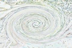 Иллюстрация - белый водоворот Стоковое Изображение